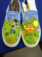 Lorax Shoes by Chaosthelittledevil