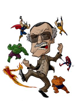 CARICATURES: STAN LEE by Zuccarello