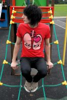 lungs tee red by DeathByDesign06