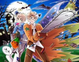 USUK Halloween 2011 by maiyeng
