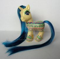 My little Pony Custom G3 Aztec No. 1 by BerryMouse