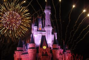Castle Fireworks by AnGeLiCcHiKa9320