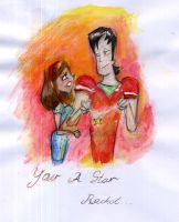 TDI Glee: Your A Star Rachel by SySaiyan
