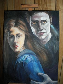 Bella and Edward Twilight by CRCstinger