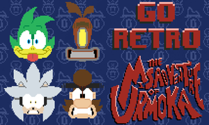 The gang has gone 8 bit by CrazyCrumbCake