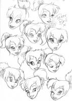 TinkerBell Expressions by mangamaiden85