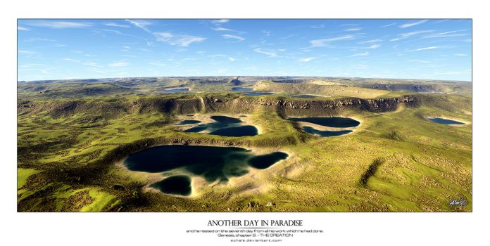 Another Day In Paradise by Ashale