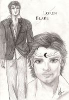 Loren Blake - House Of Night by NatBelus