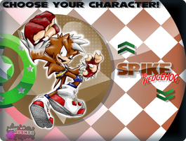 :CM: SPIKE - selection screen by Rush88