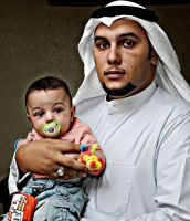 ME AND MY SON ''NASSER'' by ALnemer