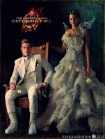 Katniss and Peeta by YlianaKapella-Neidon