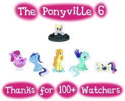 The Ponyville 6 by Ambassad0r