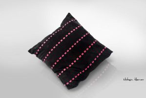 Leather Cushion covers black by mohsinkhawar