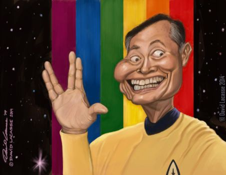 George Takei - Oh Myyy! by David-Lacasse