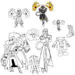 Andross Concepts by evilwaluigi