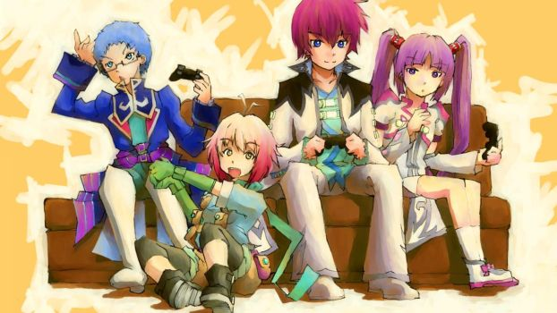 Tales of Graces PS3 2012 by bradlycolin