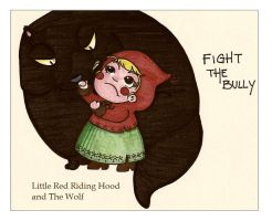 Fight the bully_colored by IWillPutAspellOnYou