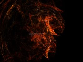 the fire burns by NkFlower