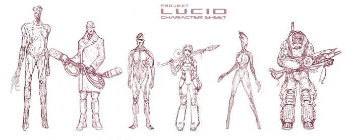 LUCID Character Sheet by AOPaul