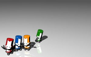 Castle Crashers Wallpaper 2D by Discmage