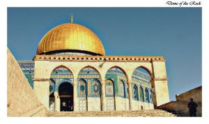 Dome of the Rock 1 by muslimz