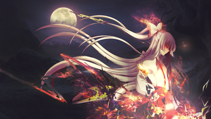 Immortal - Touhou Project Wallpaper by RaiLGunLv5