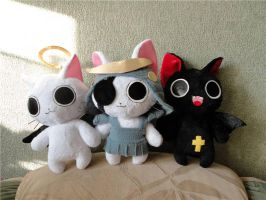 Nyanpire cats by Rens-twin