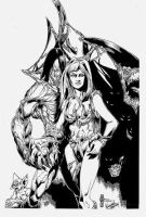 Darkness_Witchblade by pyroglyphics1