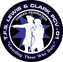 TFS Lewis and Clark Ship's Insignia Commission by viperaviator