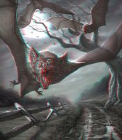 Vampire Bats 3-D conversion by MVRamsey