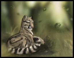 Clouded Leopard fini by daisy7