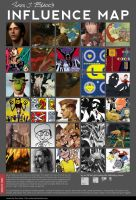 INFLUENCE MAP MEME by EvilApple513