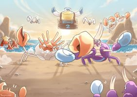Crab Boxing! by thegreyzen