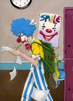 Crazy Clown Time by ladyseal