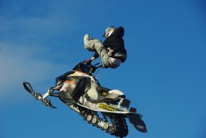 Freestyle With Snowmobile by Heavymedicated