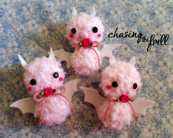 Cotton Candy Bats by Forever-Frill