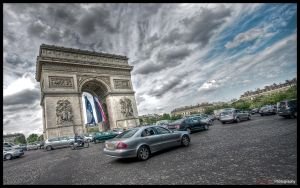 Paris  - Champs Elysees WP by superjuju29