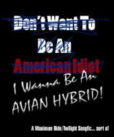 Wanna Be an Avian Hybrid Cover by Dreamweaver38