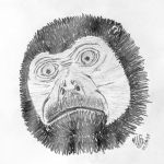 Howling Monkey by adragor