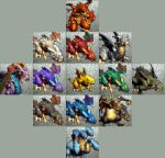 OB64 - Dragon Classes by Relaie