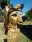 Miss Kitty new Fursuit head FINISHED by Coyote-Walker