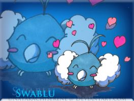 Cute Swablu by NatakaChiSerene