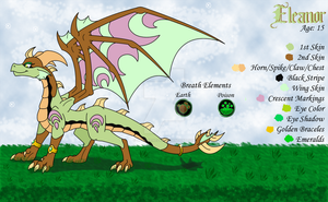 Eleanor the Earth Dragoness by Dark-Genesys