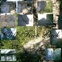 Cliff Face Pack by Nekoha-stock