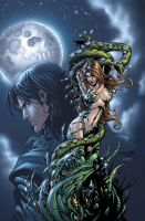 Witchblade: Shades of Gray cvr by BlondTheColorist