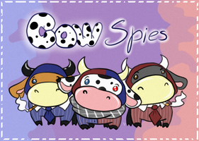 Cow spies by ChuChucolate