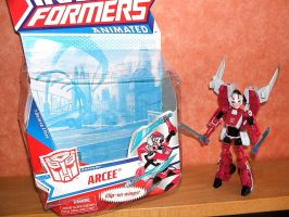 New Deluxe Arcee -With Box- by HealerCharm