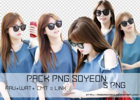 Pack #4- PNG Soyeon by rankagome52