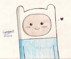 Cute Wittle Finn by zealousScribbler