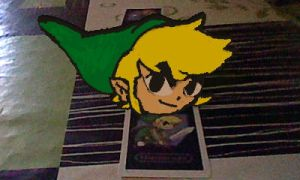 Toon Link in 3DS by StarTheYoshi